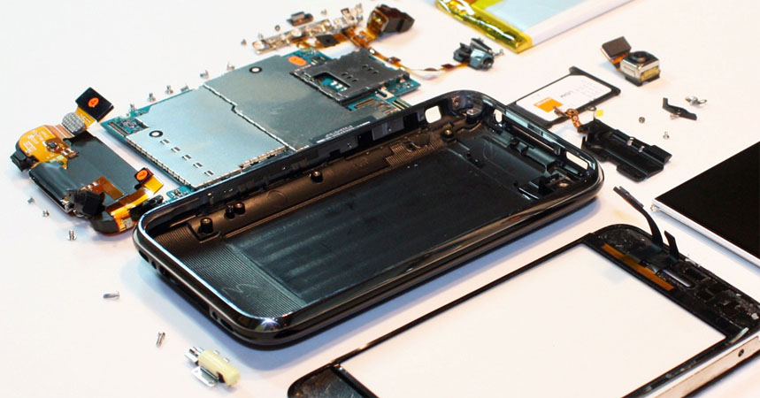 iPhone dalys